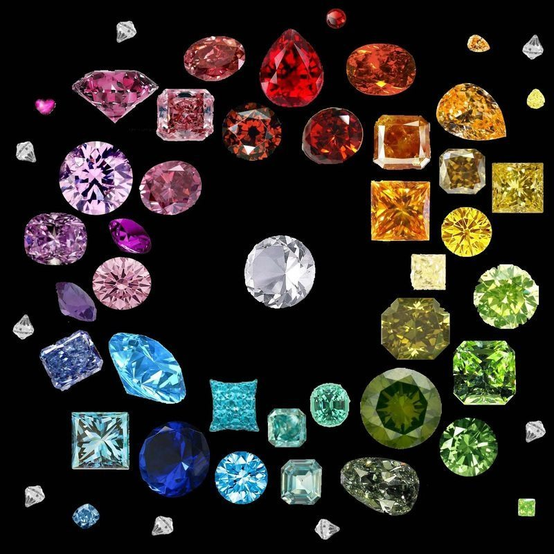 Colored Diamonds: Are They Real And Are They Valuable ...