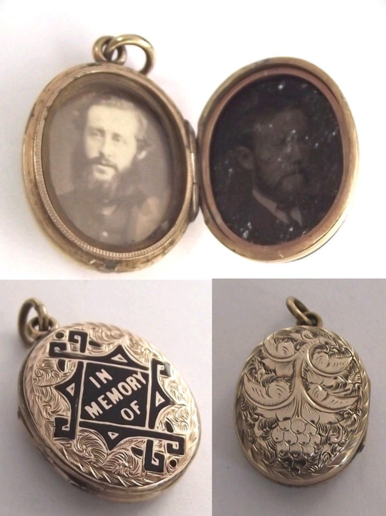 Victorian Mourning Jewelry Locket
