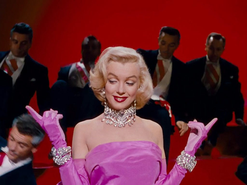 Famous Jewelry In The Movies Vol 6 Gentlemen Prefer Blondes