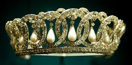 Grand Duchess Vladimir Tiara Pearls