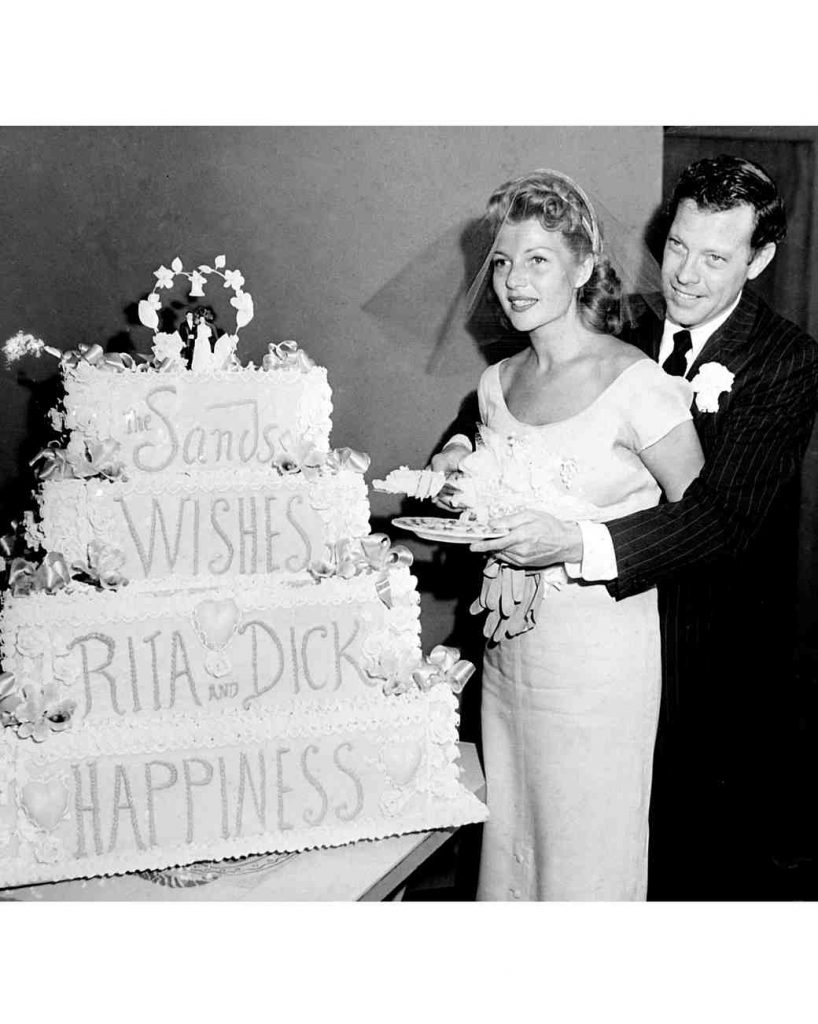 Wedding Wednesday: Rita Hayworth and Dick Haymes