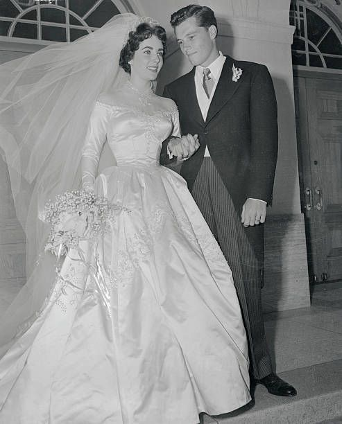 Wedding Wednesday: Elizabeth Taylor and Nicky Hilton