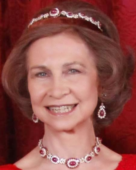 Royal Spanish Tiaras: The Niarchos Ruby Tiara