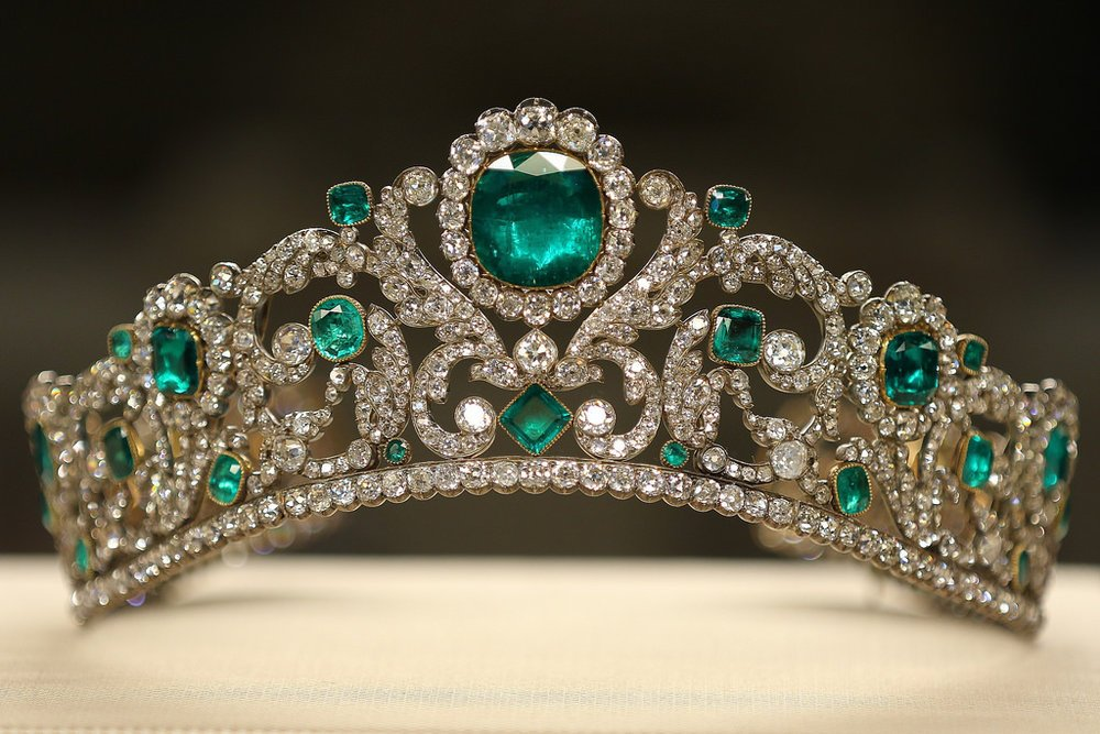The Duchesse d'Angouleme Emerald And Diamond Tiara