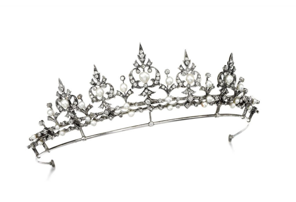 Tiaras Up For Auction